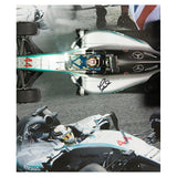 Signed Lewis Hamilton Mercedes 1:18 Scale F1 2015 Car