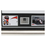 Signed Jenson Button McLaren Framed F1 Shirt