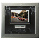 Signed Sebastian Vettel Ferrari F1 Framed Photo Deluxe Display