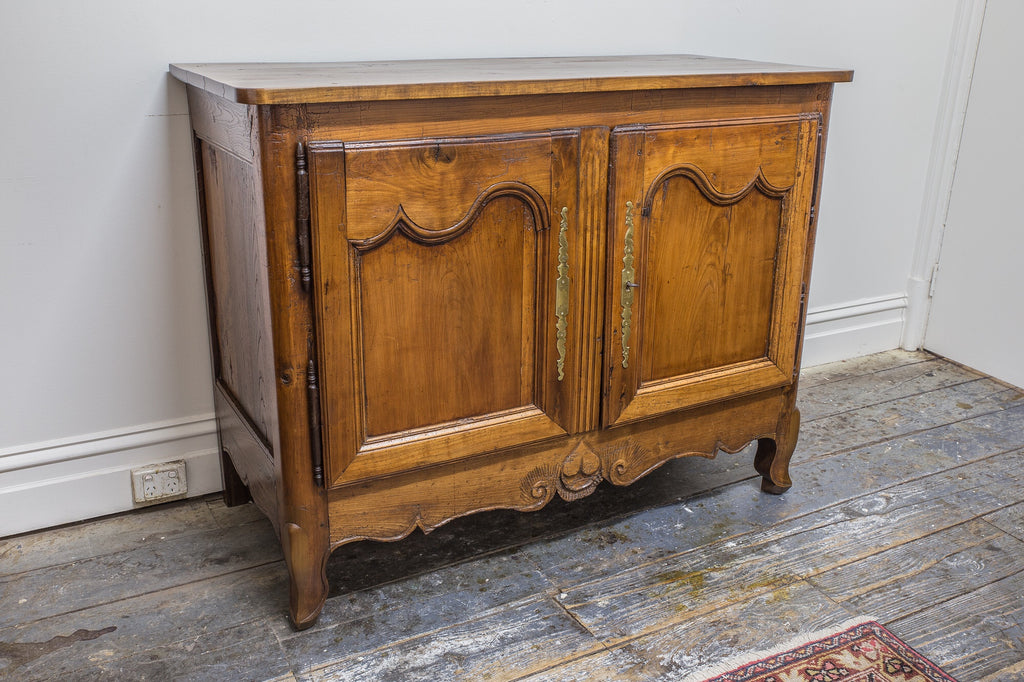 SOLD - French Cherrywood Buffet