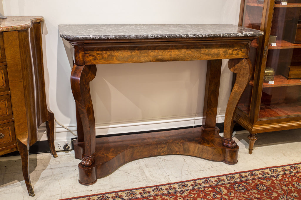 SOLD - French Louis Philippe Console Table