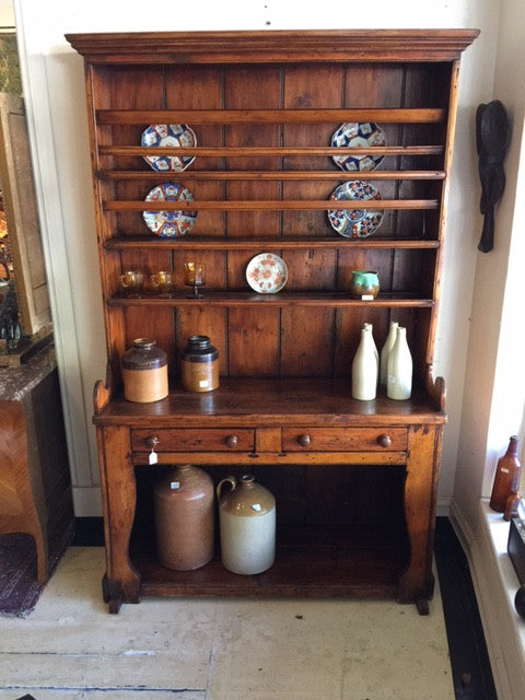 SOLD - Irish Pine Dresser