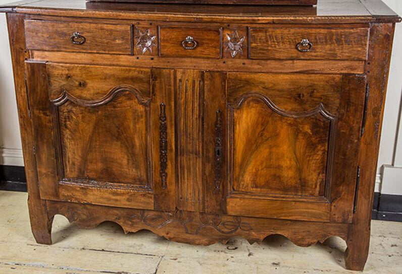 SOLD - French Walnut Buffet