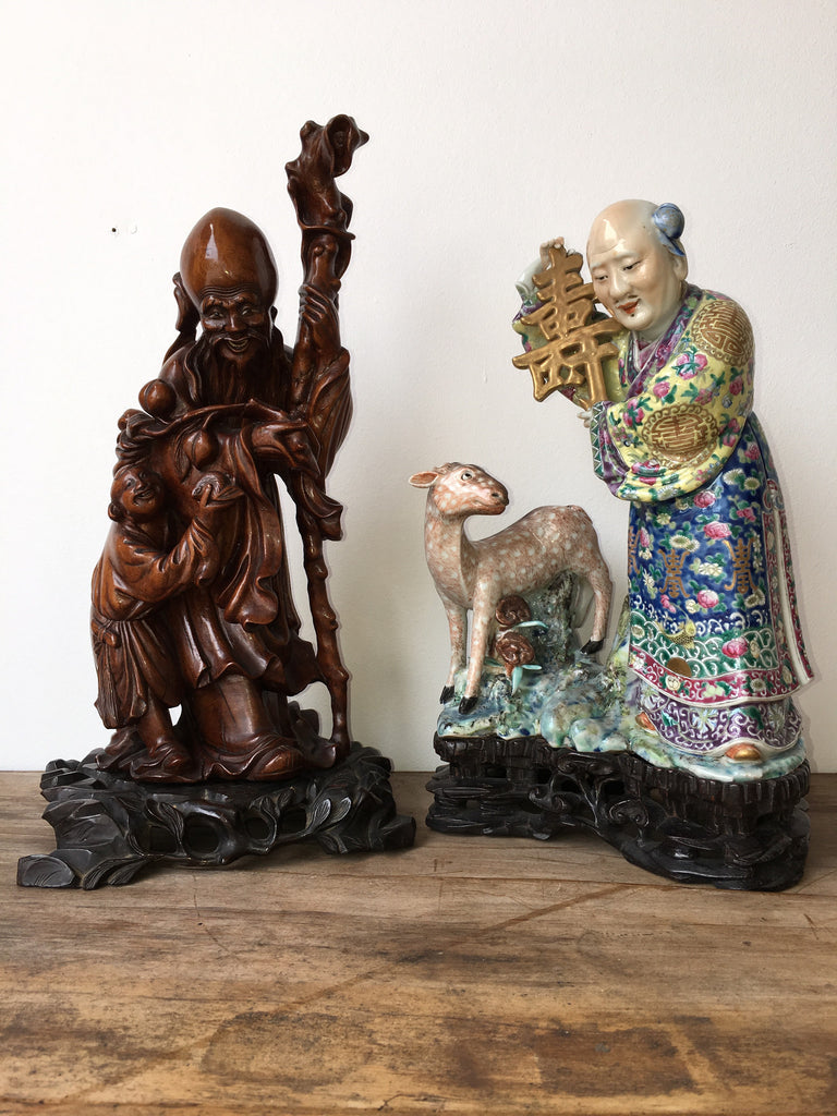 SOLD - Chinese Immortal Figures