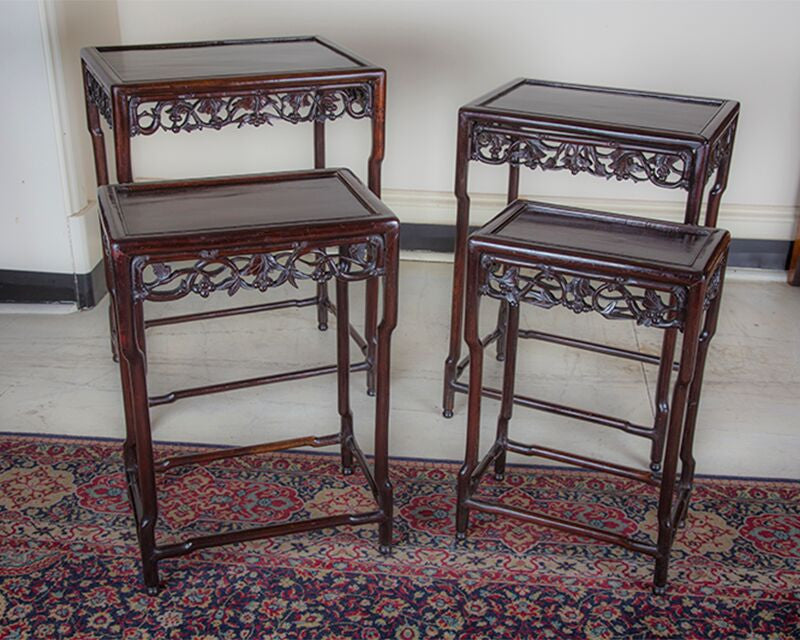 SOLD - Chinese Nesting Tables