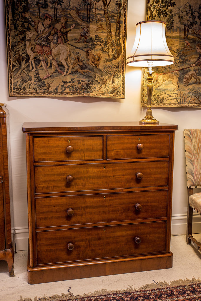 SOLD - Mahogany Chest Of Drawers