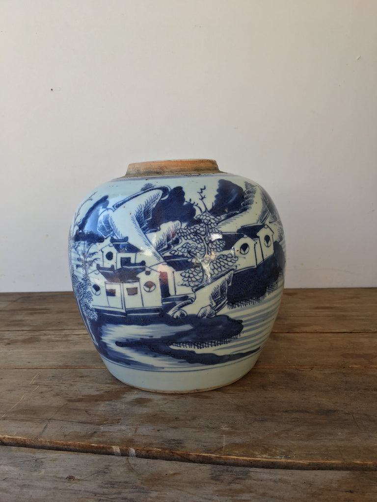 SOLD - Chinese Antique Ginger Jar