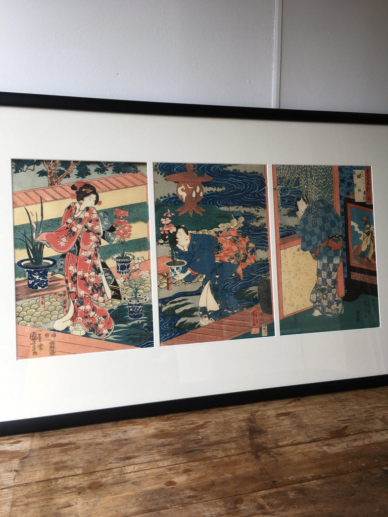 Edo Period Woodblock Print
