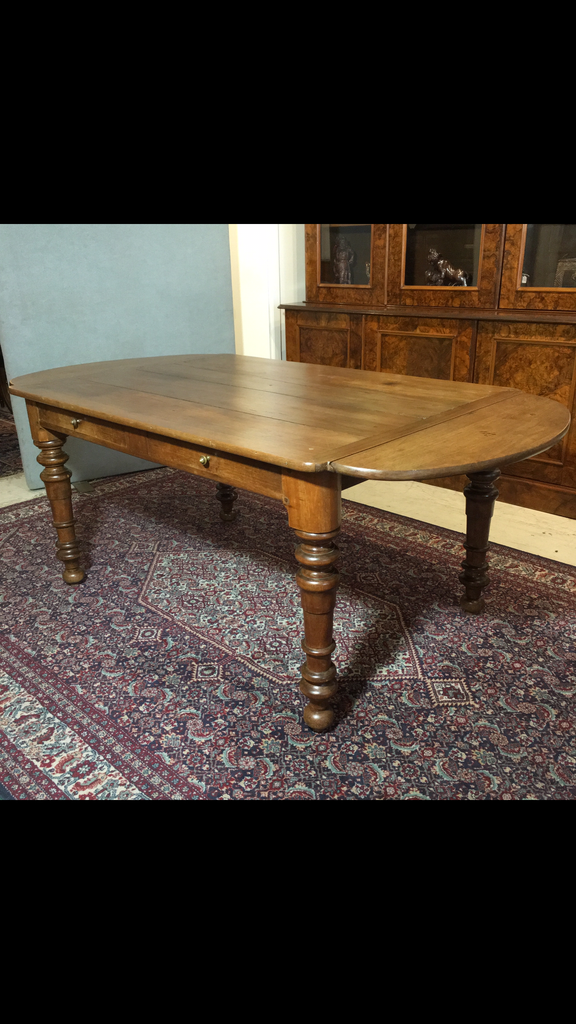 French Walnut  Farmhouse Table