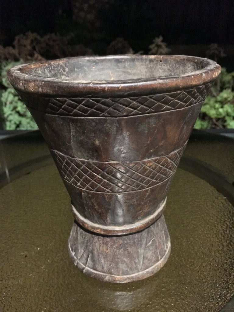 Sepik River Betel Nut Mortar