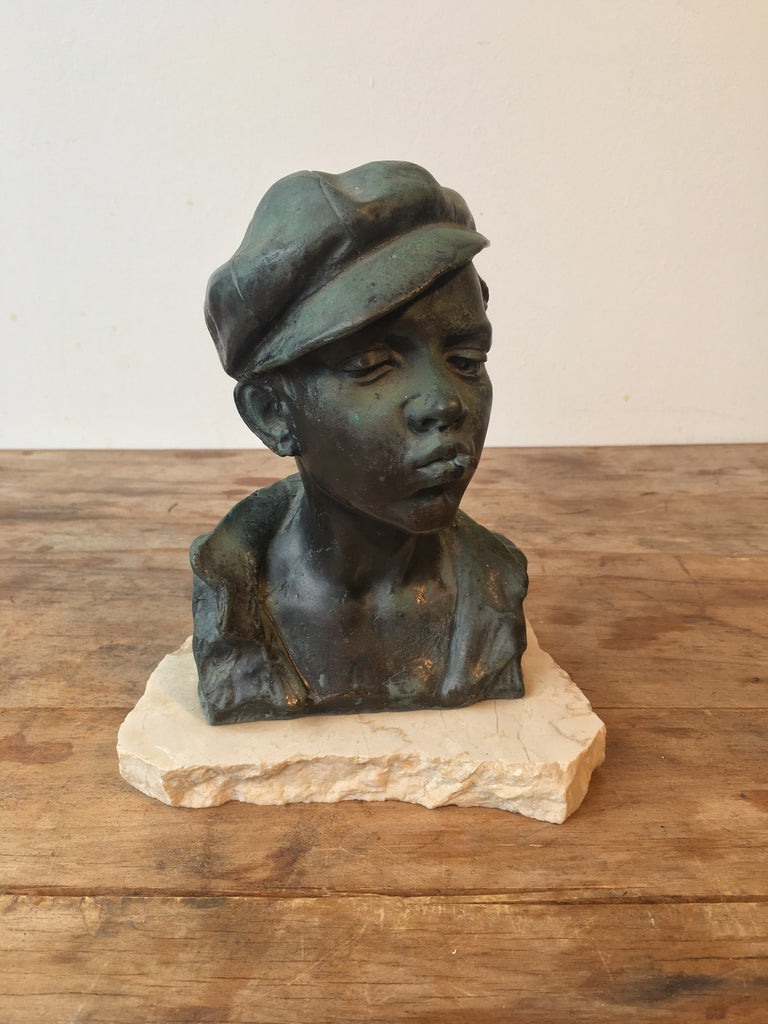 SOLD - French Bronze Bust