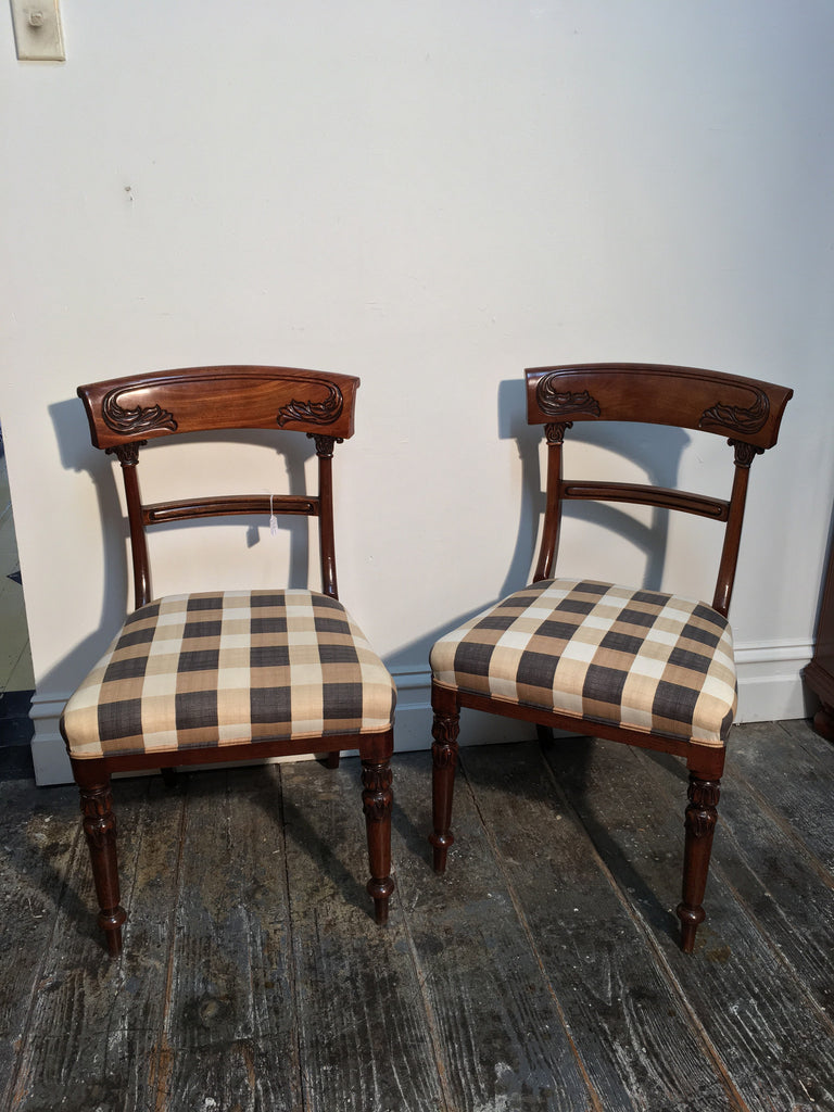 SOLD - Pair Of William IV Chairs