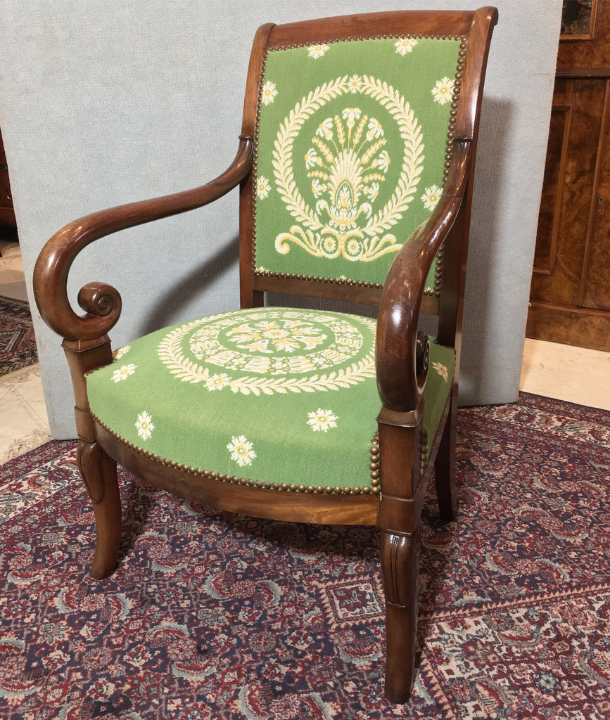 French Charles X Armchair