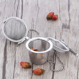 Reusable Stainless Tea Spice Strainer Mesh Herbal