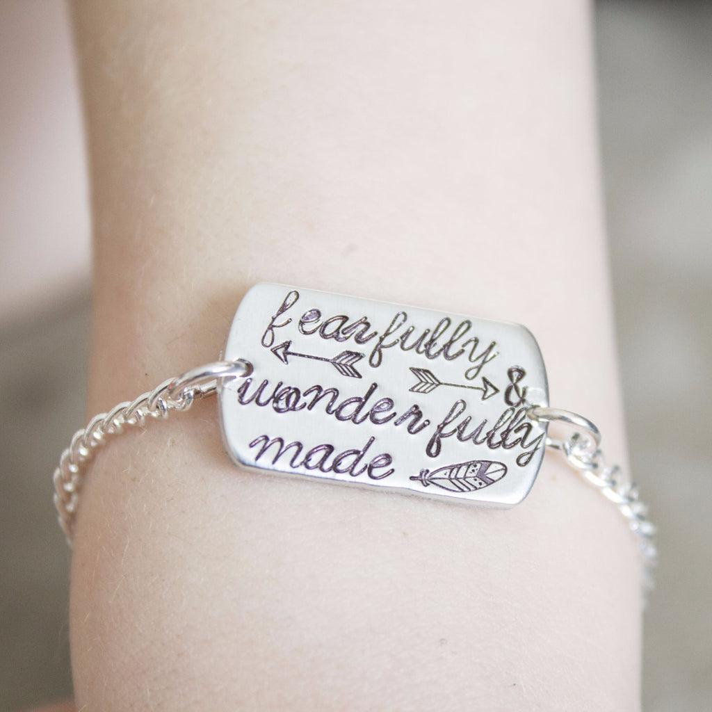"""Fearfully and Wonderfully Made"" Bracelet"