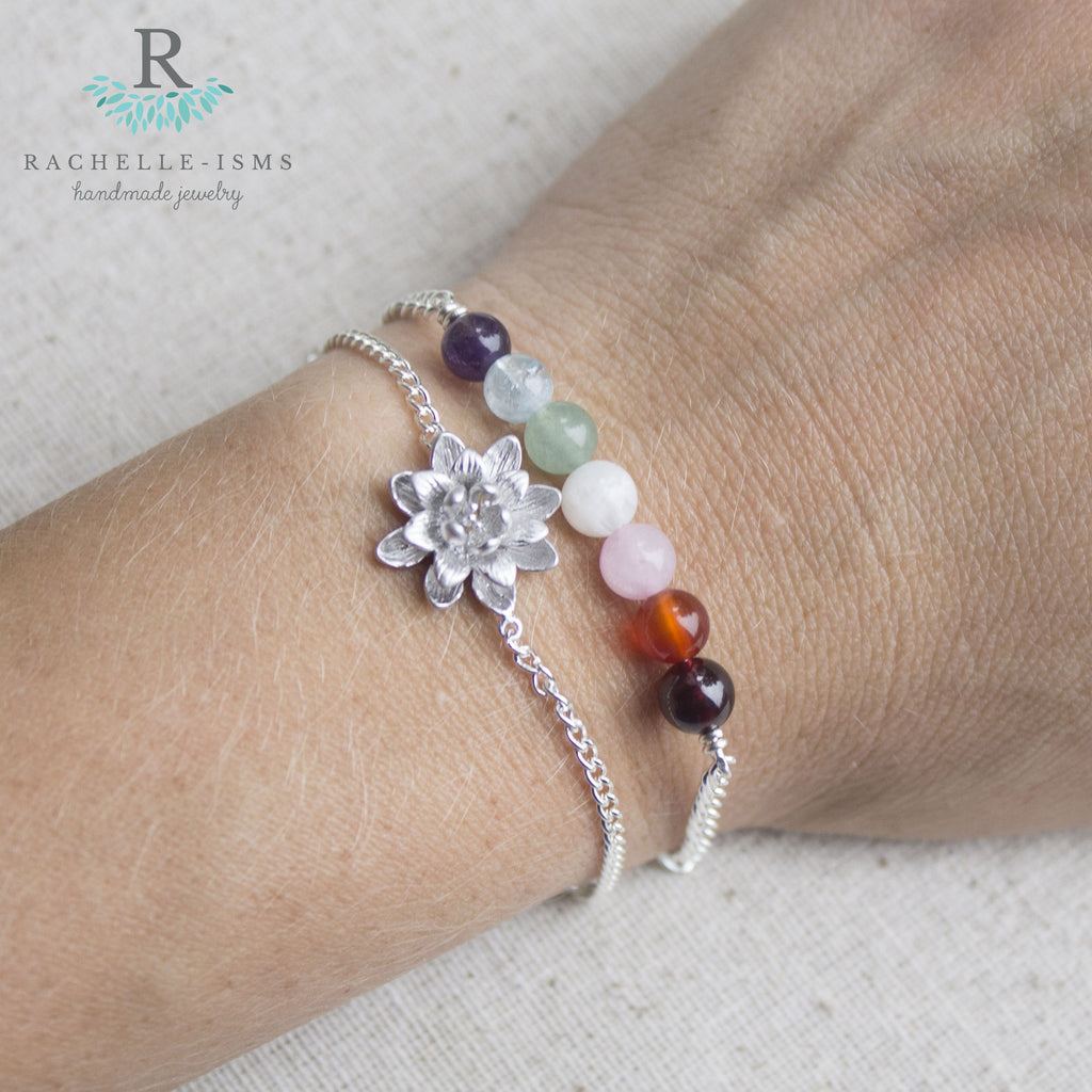 """Bloom Where You are Planted"" Fertility Bracelet Set"