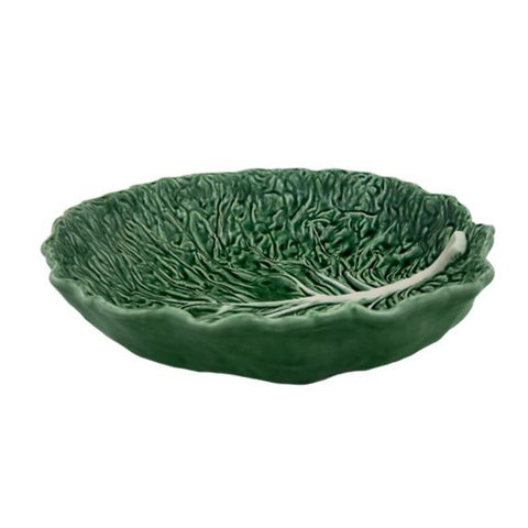 Bordallo Pinheiro - Cabbage Collection, Salad Bowl 40cm - 2 Colours