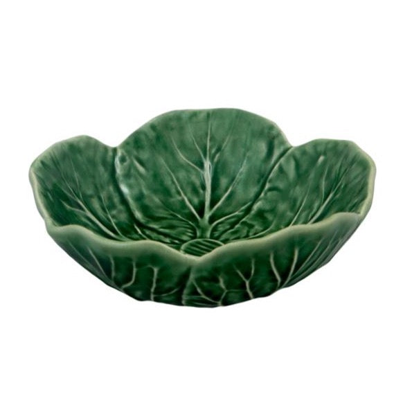 Bordallo Pinheiro - Green Cabbage Collection, Bowl 17.5cm - 2 Colours