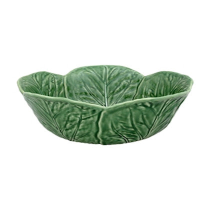 Bordallo Pinheiro - Green Cabbage Collection, Bowl - Various Options