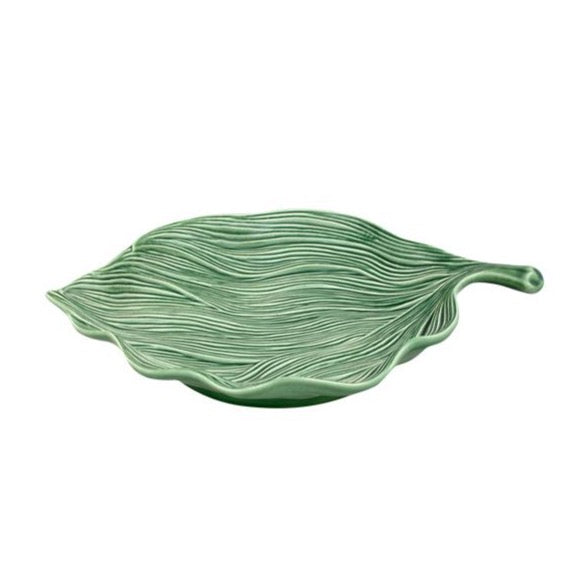 Bordallo Pinheiro - Pineapple Leaf Platter -  Various Sizes