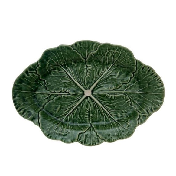 Green Cabbage Collection, Oval Platter