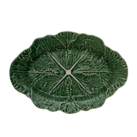 Bordallo Pinheiro - Green Cabbage Collection, Oval Platter