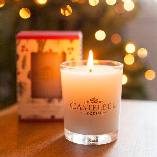 Castelbel - Holiday Forest Candle 80g - Vanilla Bergamot