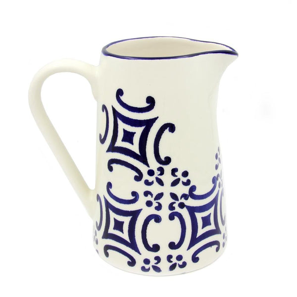 Portugal Gifts - Hand Painted Ceramic Pitcher - Various Patterns