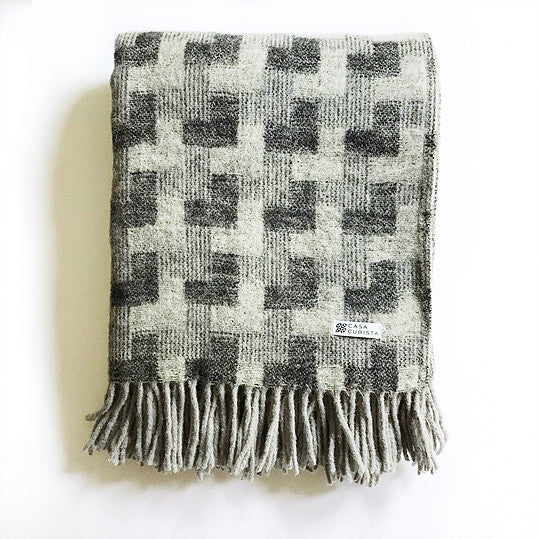 Casa Cubista - Wool Blanket - Various Patterns