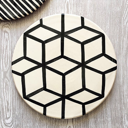 Casa Cubista - Graphic Platter - Various Patterns