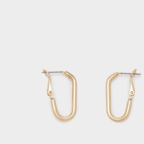 SS21 Collection - Rectangle Hoop Earrings