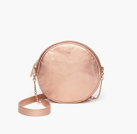 bjoy - Diana shoulder purse golden rose leather