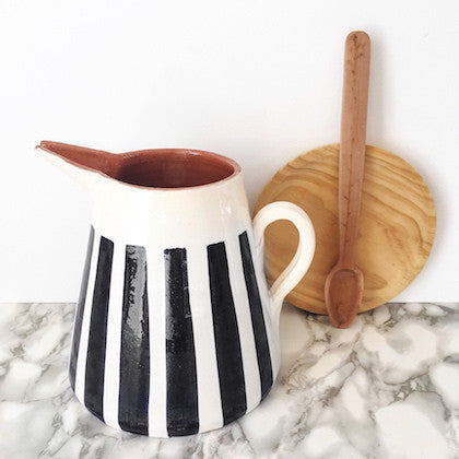 Casa Cubista - Stripe Jug 2L - Various Colours Available