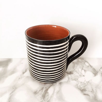 Classic Stripe Mug - Various Colours