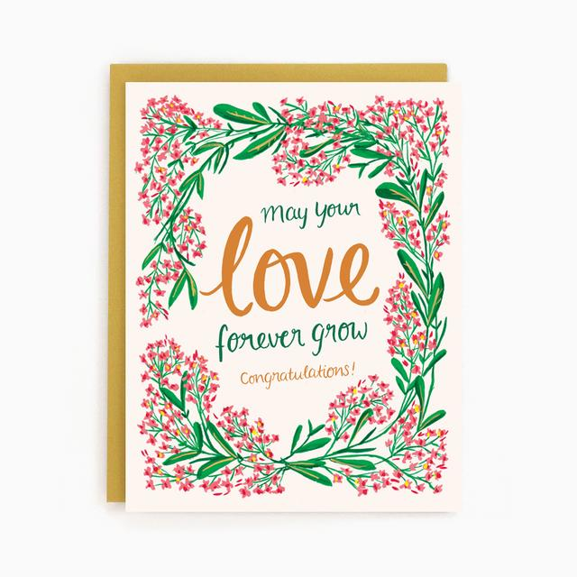 Congratulations - Wedding/Anniversary Card