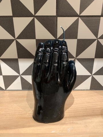 Vellas Loreto - Hand Candle - Black
