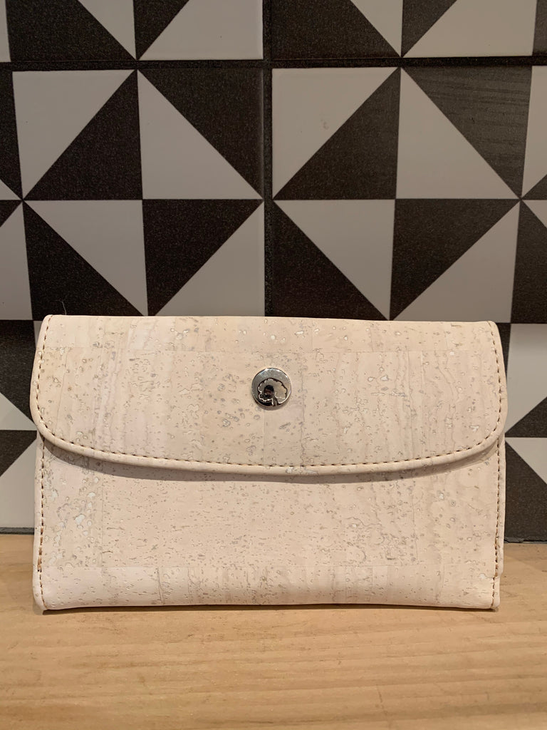 Rok Cork - Winter White Wallet