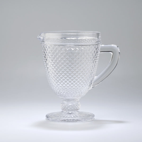 DMG - Pointed Glass Stem Pitcher - Various Colours