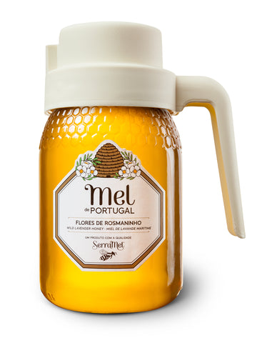 Serramel - Wild Lavender Honey with Spout - 500g
