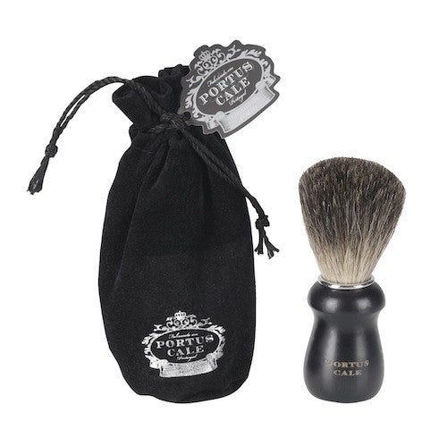 Castelbel - Portus Cale, Pure Badger Hair Shaving Brush - Black Edition