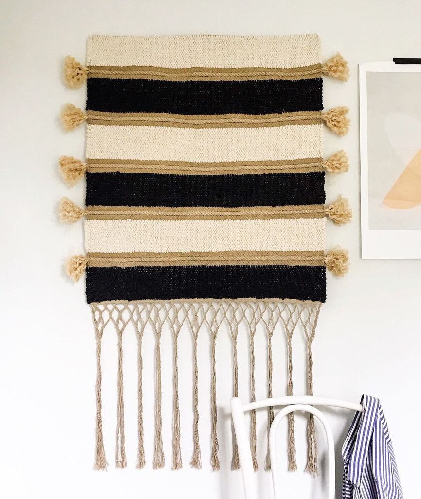 Casa Cubista - Woven Wall Hangings Rope