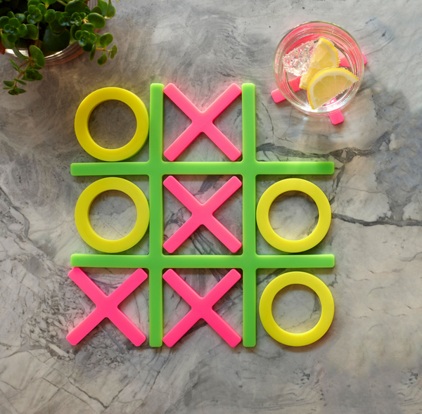 MoMA - Tic Tac Trivet & Coaster Set - 2 Colours
