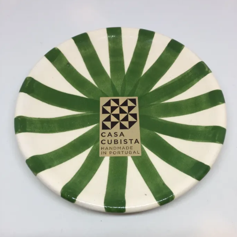Casa Cubista - Mini Patterned Plate - Various Colours & Patterns