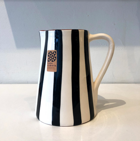 Large Stripe Jug; Various Colours