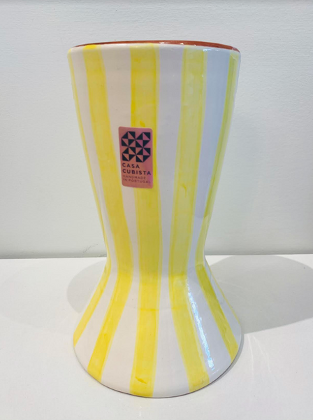 Casa Cubista - Bold Stripe Beaker Vase - Two Colours