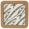 'Cobblestone' Tile Trivet with Cork; Various Patterns
