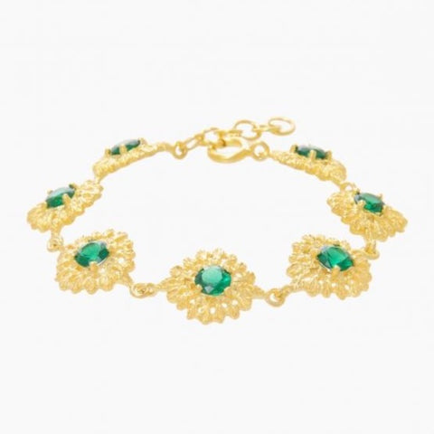 Bracelet Queen in Emerald Gemstone - Ana Moura Collection