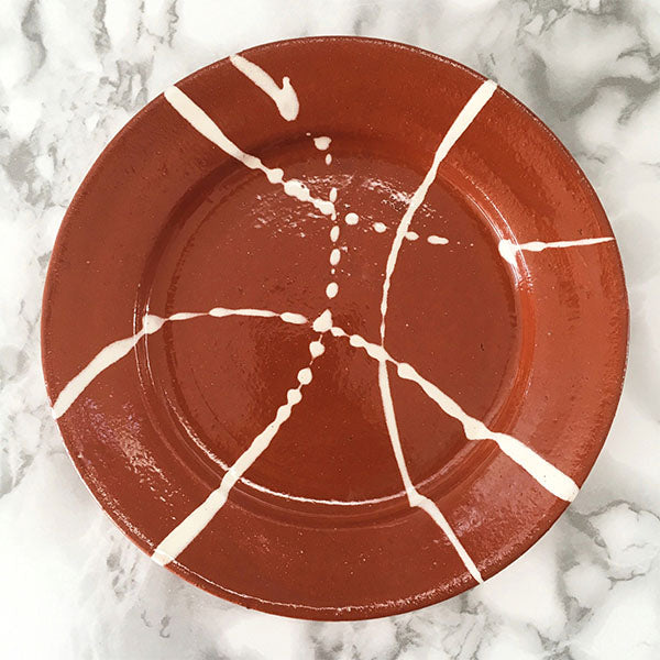 Casa Cubista - Rustic Plate - 2 Sizes Available