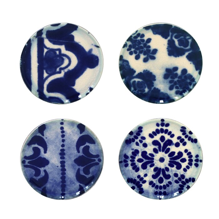Costa Nova - Mini Plates - Set of 4 - Lisboa