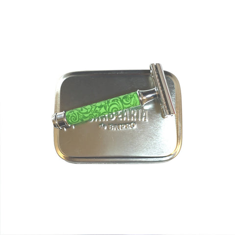 antiga barbearia - safety razor